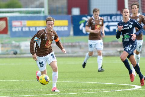 HJEMMEKAMP: Mo IL og Kim A. Råde møter Molde 2 på Sagbakken torsdag kveld.