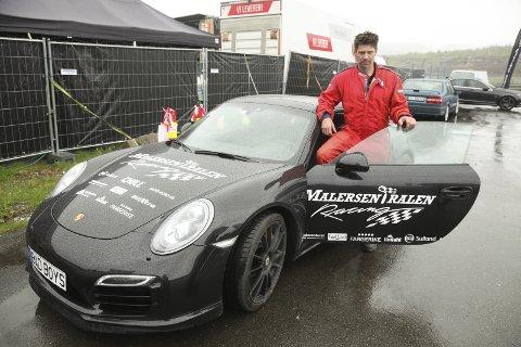 Raskest: Vidar Svedenborg vant lørdagens dragrace med sin Porsche 911 turbo. Godt veigrep var en av suksessfaktorene. Foto: Stian Forland