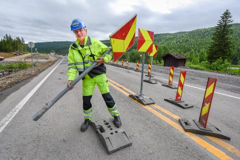 På E6 Helgeland Nord ble parsellen Tjæraskardet- Eiterå åpnet i forrige uke. Onsdag skal Hæhre ta ferie og det betyr lettere framkommelighet gjennom Dunderlandsdalen fram til 2. august.