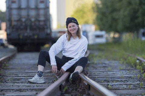 Sommerjobb: Ingrid Haugen Nonskar har fått sommerjobb i P3 for andre året på rad.Foto: Erlend Laanke Solbu