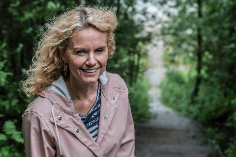 Camilla Susann Haug i Mjølantrappa.
