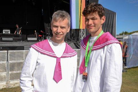 Hogne Langset og Ole Martin Sadberg i Oslo Fagottkor