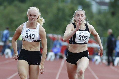 Bronse: Vilde Gjesbakk løp inn til bronse under junior-NM i Harstad. Foto: Dag Eliassen