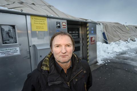 Uendrede planer: Styreleder i Arena Bygg, Per Harry Steiro, er klar på det jobbes for en ny hall i høst. Foto: Øyvind Bratt