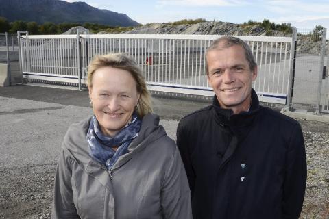 – Vi er glade for at ESA har avvist at det er gitt ulovlig statsstøtte i forbindelse med salget av Langsetvågen industriområde til Mo Industripark, sier ordfører Hanne Davidsen og varaordfører Finn Rindahl i Nesna kommune.