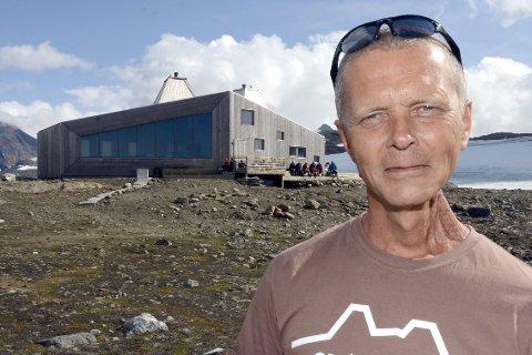 Rabothyttas far Svein Arne Brygfjeld fikk samfunnsprisen Horisont for 2017 for sin frivillige innsats for samfunnet ved å få bygget hytta.