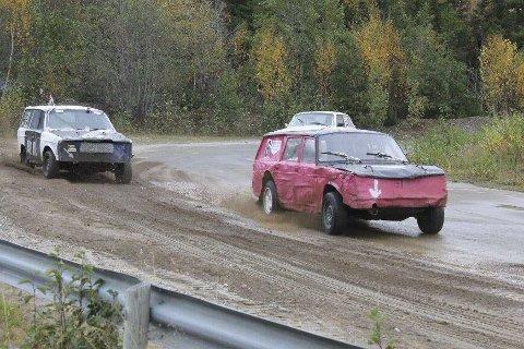 Natalie Jacobsen gjorde det bra under helgas Landsfinale i bilcross på Hamar. Foto: Privat