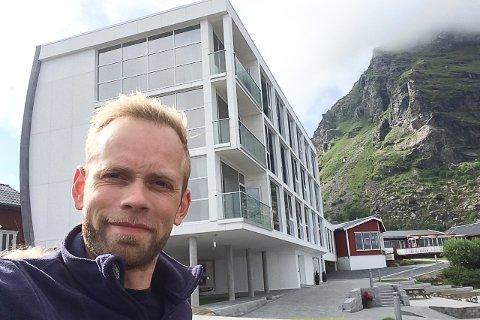 Daglig leder Sivert Olaisen har i juli måned i år opplevd et besøk han ikke hadde trodd han ville få i år. Han er gledelig overrasket over det.
