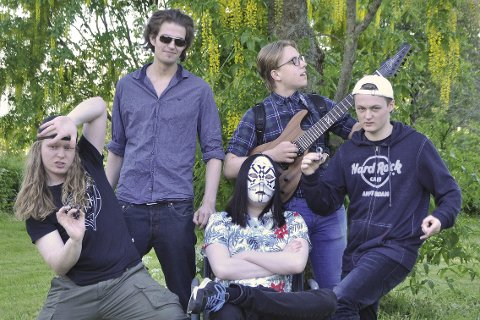 Blomsterbarn: Bandet Blomsterbarna spiller på Sjyen til helga.Foto: Ludvig Fagervik