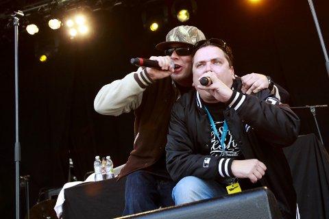 Joddski: Truls Puls og Jan Steigen er kjent fra den nordnorske rapgruppa Joddski.