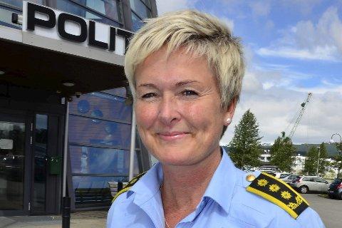 Politiinspektør: Sølvi Elvedahl, Nordland politidistrikt.