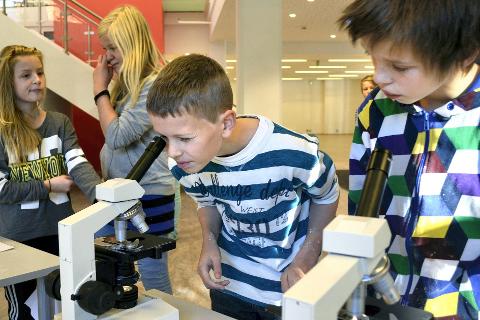NYSGJERRIG: Forskningsdagene er viktige møtesteder for å gi folk et bedre innblikk i hva forskning er og hva forskere gjør, skriver Maiken Bjørkan. IllustrasjonsFoto:  Beate Nygård Johansson