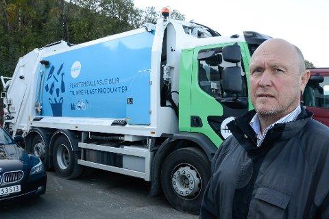 - Folk må betale for konkursen til vår renovatør Reno Norden med en høyre renovasjonsavgift, sier daglig leder Geir Nerdal i HAF.