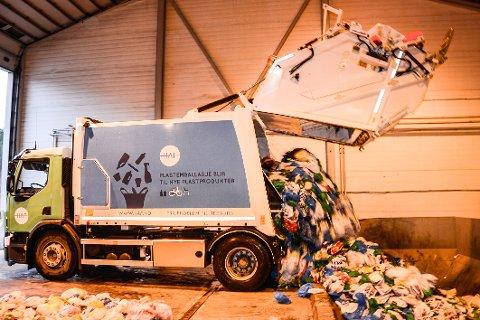 Søppelkonkursen fører ikke til endring av rutinene for søppelhenting de folk de første dagene