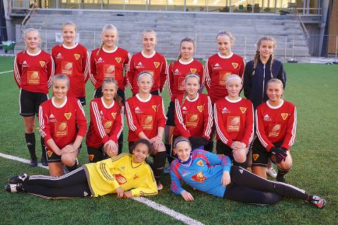 J15-laget til Bossmo & Ytteren IL er klar for kretsfinale på Sagbakken.