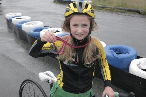 Vant: Regine Solhaug Hansen var raskest i sin klasse.