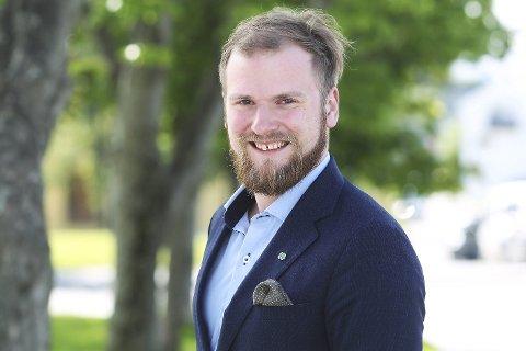 TIL TINGET: Willfred Nordlund (Sp) skal representere Nordland på Stortinget de neste fire åra. Foto: Helge Grønmo
