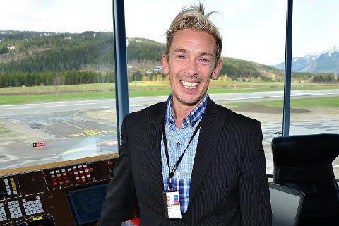 Flyplassjef Flemming Berthelsen. Foto: Hugo Charles Hansen
