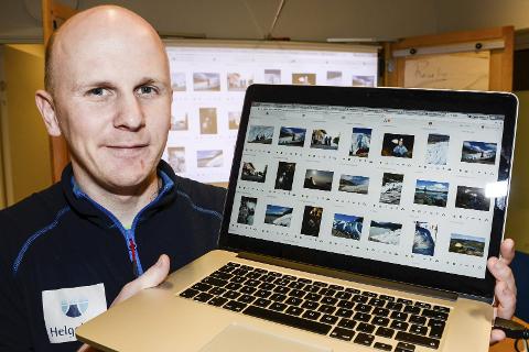 – Denne bildebanken er gratis for bruk for alle fra bedrifter og foreninger til privatfolk, som vil vise fram hvor vakkert det er her, sier regionansvarlig Georg Enga for Nord-Helgeland hos Helgeland reiseliv.