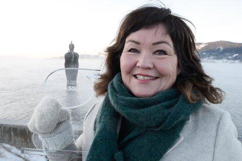 Storflyplass, dypvannskai og studentboliger er de tre viktigste tingene i 2018 for Rana-ambassadør Anita Sollie.