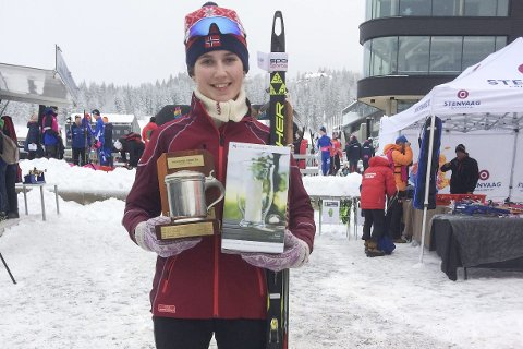SEIER: Hanne Kråkstad Johansen vant i Kollen.
