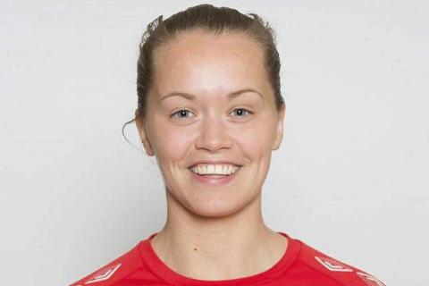 Ingrid Altermark (22) kaller det fantastisk å komme til cupfinalen i fotball med sitt lag Sandviken.