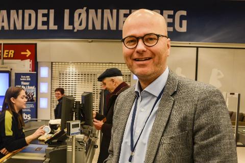 FORNØYD: Per B. Brochmann er svært fornøyd med undersøkelsen. Foto: Arne Forbord