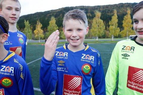 Gabriel Valla scoret ekte hat-trick i andre omgang og scoret også det første målet i kampen i første omgang