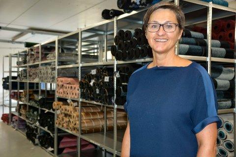 Daglig leder Sonja Djønne i Heymat AS. Nå skal produktet promoteres i Tyskland.