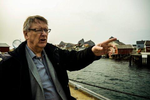 Per Pedersen, ordfører i Træna kommune ser tilbake på et tungt år.