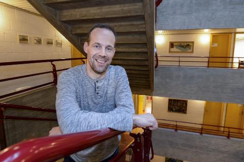 Kjell Joar Petersen-Øverleir ble i oktober ansatt som ny rektor på Korgen sentralskole.