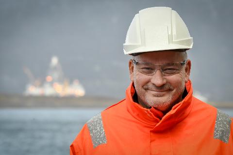 - Vi er gode til å holde ut. I 16 år har vi jobbet for å få en oljerigg til Nesna. Nå har det skjedd. En milepæl er nådd for oss, sier daglig leder Arnt Skogsøy i Westcon Helgeland.