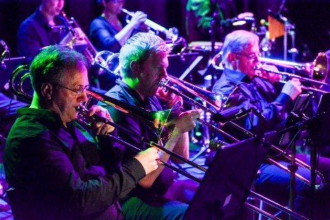 DIOC Big Band: Her fra  Stevie Wonder-konserten tidligere i vår.