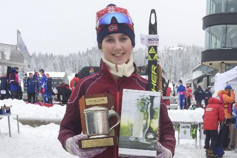 Hanne Kråkstad Johansen går en spennende sesong i vente som junior, etter at hennes siste år som rekrutt ga mange toppresultater.