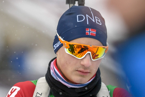 Martin Alfheim kom til junior-VM, et år før han normalt sett ville vært med i kampen.