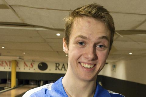 Max Østbergh fra Rana bowlingklubb er tatt ut på U21-landslaget.