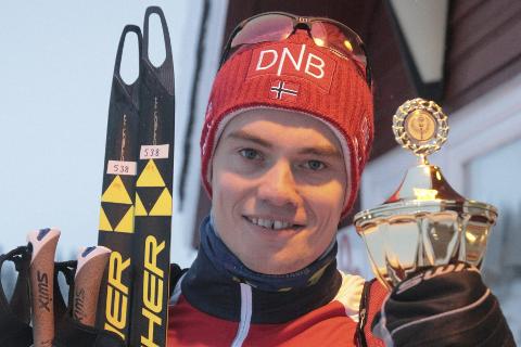 Fredrik Gjesbakk er regjerende årets idrettsnavn.