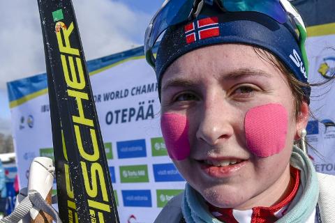 Marthe Kråkstad Johansen hadde nok en sterk vinter med topplasseringer i junior-VM og NM-gull.