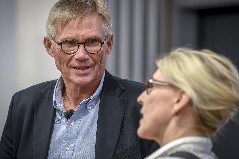 VALGETS KVAL: Denne uka avslørte Helge Torgersen hva ressursgruppa foreløpig anbefaler når ny sykehusstruktur på Helgeland skal legges.Foto: Øyvind Bratt