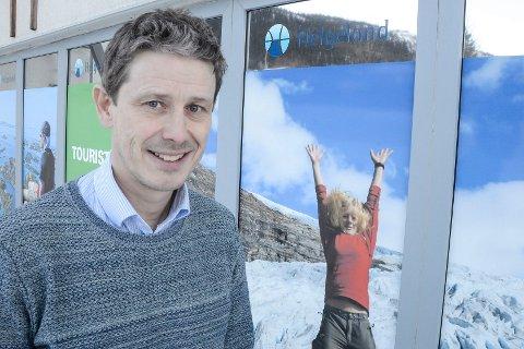 Reiselivssjef Torbjørn Tråslett i Helgeland Reiseliv