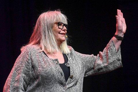 Ingrid Evertsen under Vinterlysfestivalen i fjor.