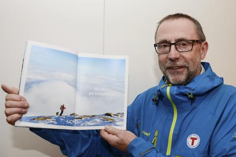 Det er bra at mulighetene for fine toppturer i Rana blir vist fram for hele landet i medlemsbladet til Den Norske Turistforening, sier leder Stig Arve Johansen i DNT Fjellsport Rana.