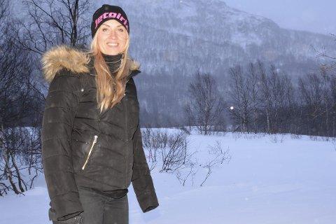 Stort område: Området ved Grenseløst i Umfors skal klargjøres til campingplass til våren. Eier, Anna Strandgren, har allerede fått mange henvendelser. Foto: Karina Solheim
