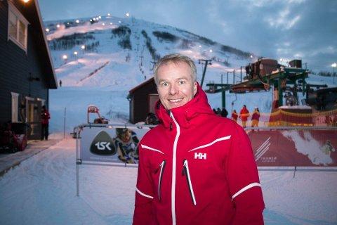 SJOKKERT: Sjef i Tromsø alpinpark, Rune Kufaas, har aldri opplevd at noen har kjørt bil i selve løypene.