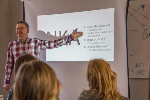 MENTAL TRENING: Ågaværingen Lars Losvik mener mental trening er ett av virkemidlene for å lykkes som idrettsutøver. Foto: Per-Johan Nylund