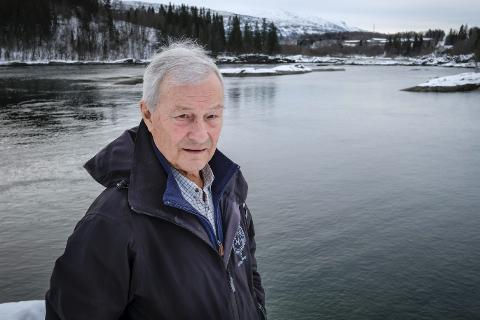 Leder i Rana Jeger- og fiskerforening, Steinar Høgaas. Foto: Øyvind Bratt