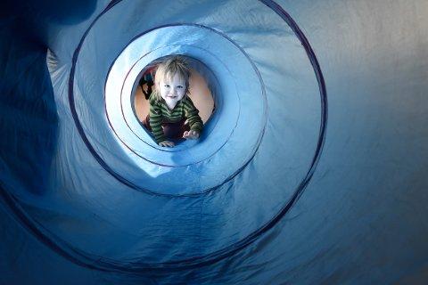 Nye Finneidfjord barnehage åpner 6. mars, men unger og ansatte tok bygget i bruk like før jul. Ragnar Örn Steffensson