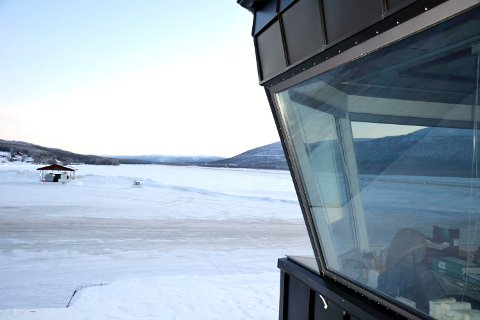 Ved Hemavan Airport ble det mål 39 minusgrader mandag, det er det kaldeste siden flyplassen startet målinger i 2008.