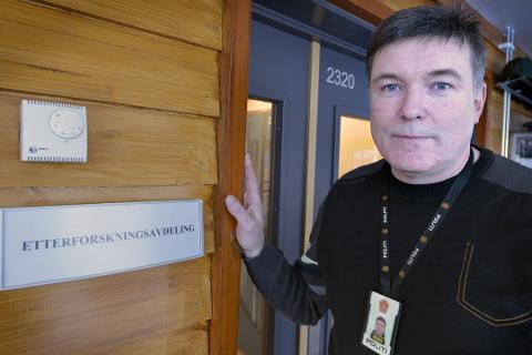 Leder ved etterforskningsseksjonen på politistasjonen på Mo, Bjørn Einar Bjørnå.