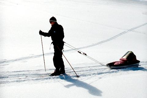 Skiforholdene i fjellet på Nord-Helgeland er blitt bedre etter de siste dagers snøfall, melder Statskog. Foto: Vidar Ruud, ANB
